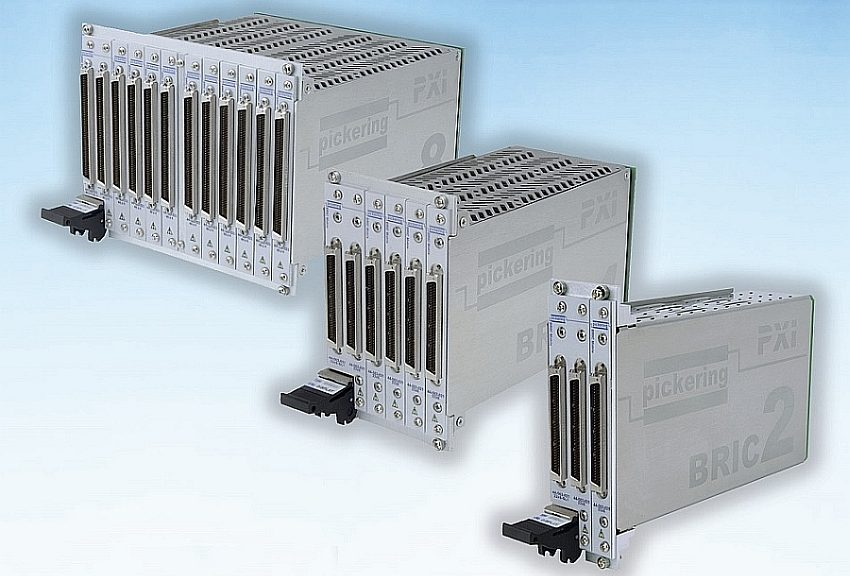 Modules PXI de commutation BRIC 40-558 de Pickering Interfaces.