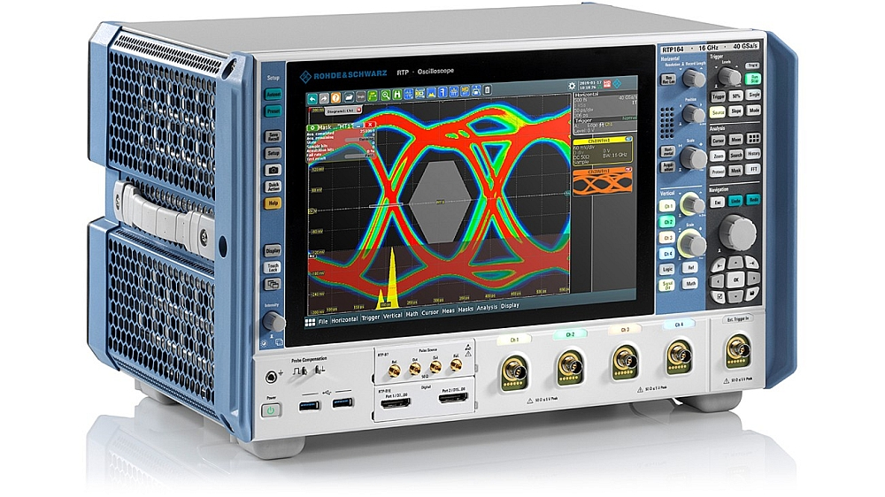R&S RTP164 oscilloscope from Rohde & Schwarz.