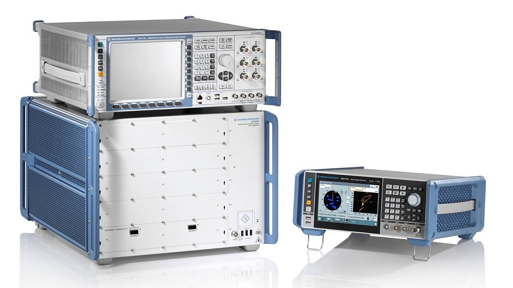 Rohde & Schwarz TS-LBS Test Solution.
