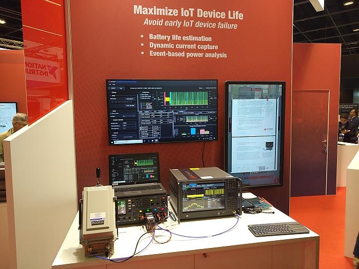 Keysight IoT test at EuMW19