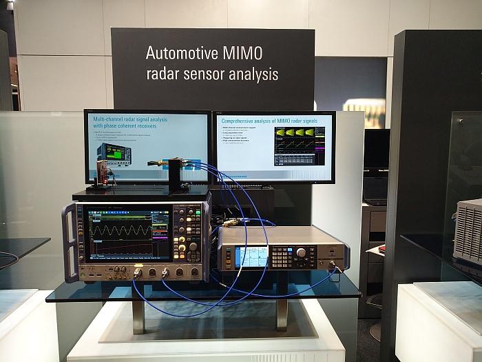 Rohde & Schwarz MIMO radar test at EuMW19