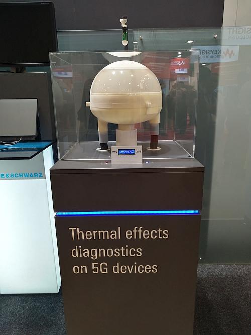 Rohde & Schwarz ATS-TEMP temperature bubble.