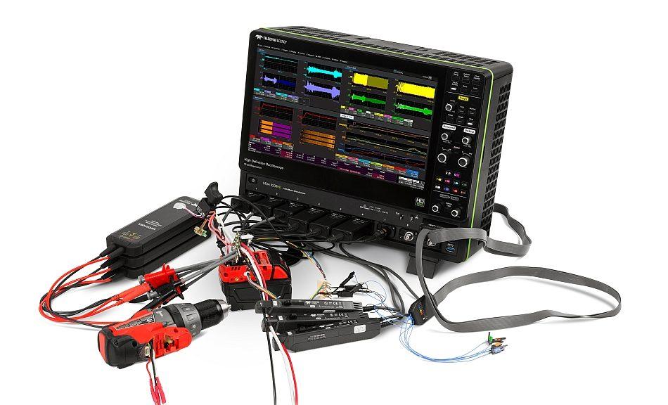 Teledyne LeCroy's MDA8000A Motor Drive Analyzers.