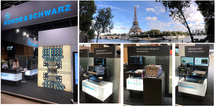 Rohde&Schwarz booth at EuMW 2019.