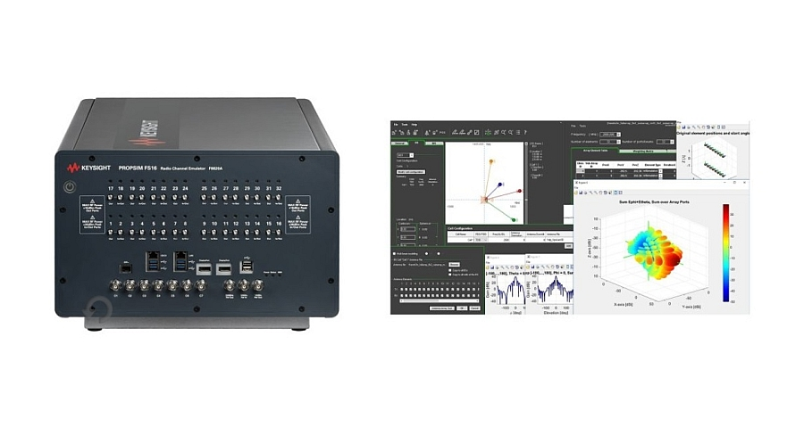 Keysight's PROPSIM FS16 5G NR channel emulation solution
