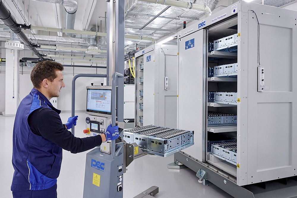 BMW Battery Competence Centre.