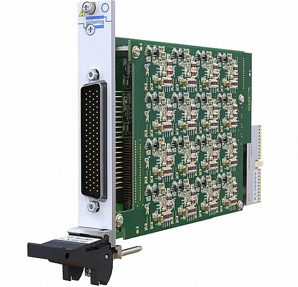 Pickering Interfaces high-density PXI 41-761 module.