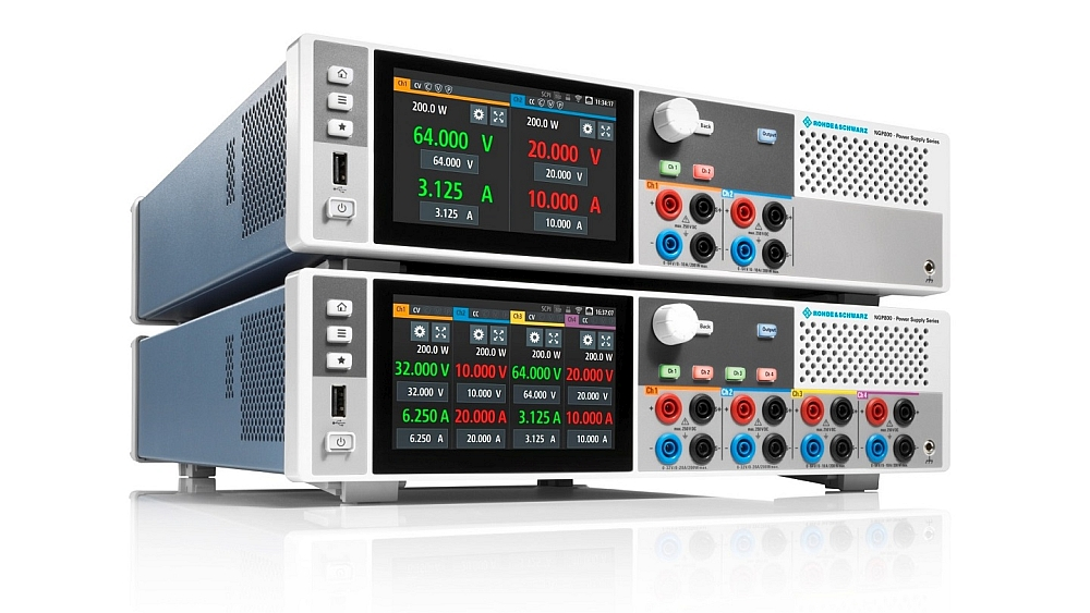 R&S NGP800 power supply from Rohde & Schwarz.