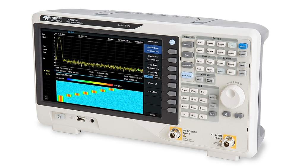 Teledyne Test Tools's T3VNA1500 Vector Network Analyzer.