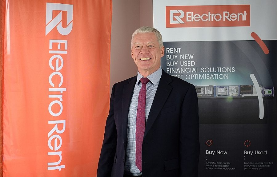 Peter Collingwood, Electro Rent Europe Managing Director.