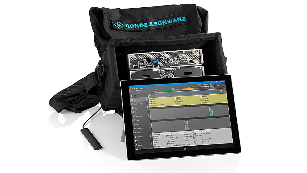 5G STS test solution from Rohde & Schwarz.C