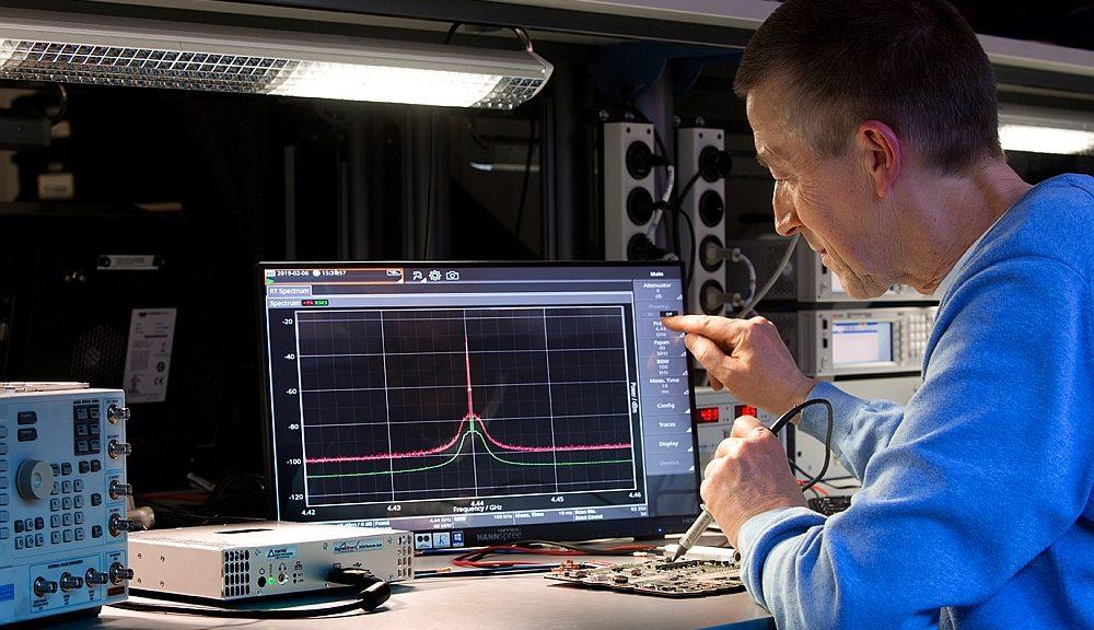 Narda's SignalShark open modular spectrum analyzer.