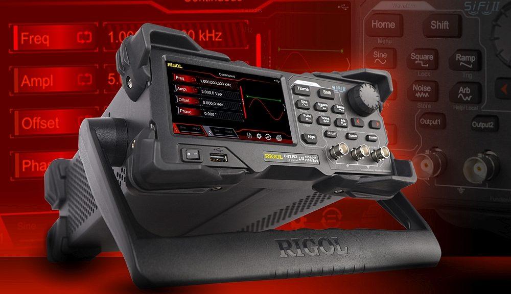 Rigol's DG2000 arbitrary generator.
