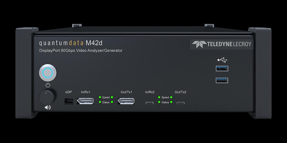 Teledyne LeCroy's Quantumdata M42d