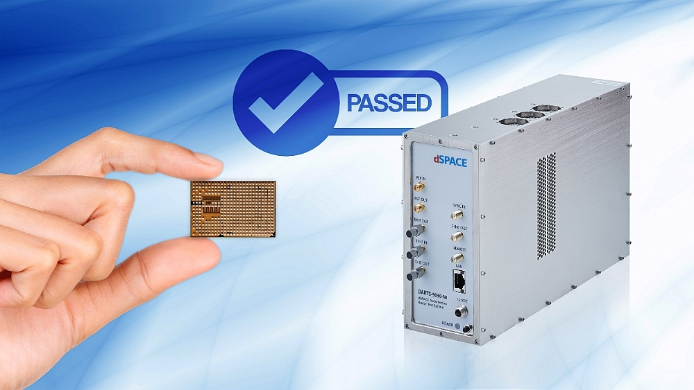 Testing Uhnder's radar chip with dSpace solutions.
