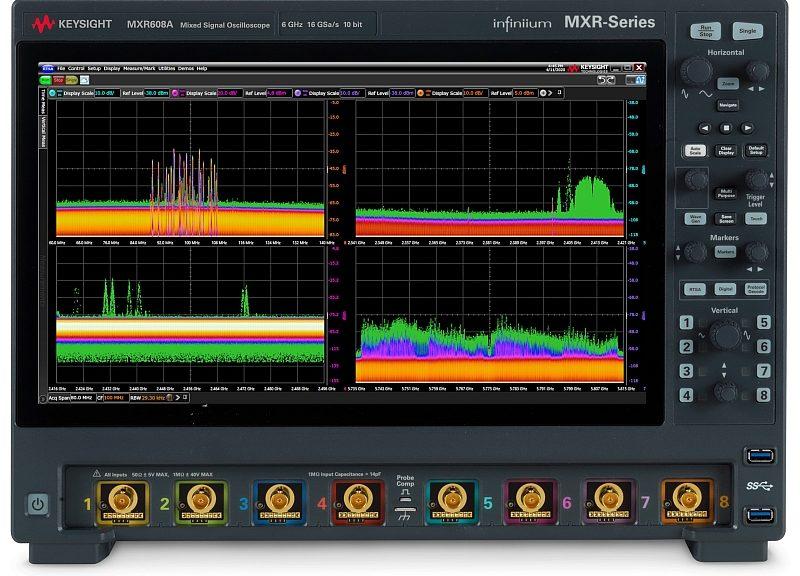 Keysight Infiniium MXR-Series Oscilloscope