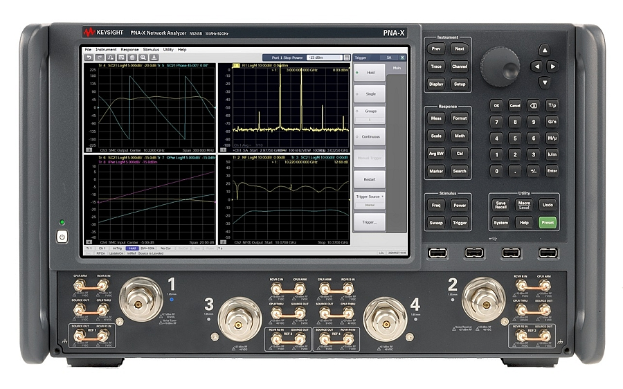 Keysight's PNA-X network analyzer