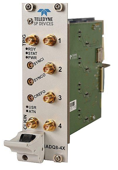 Teledyne SP Devices ADQ8-4X PXI digitizer