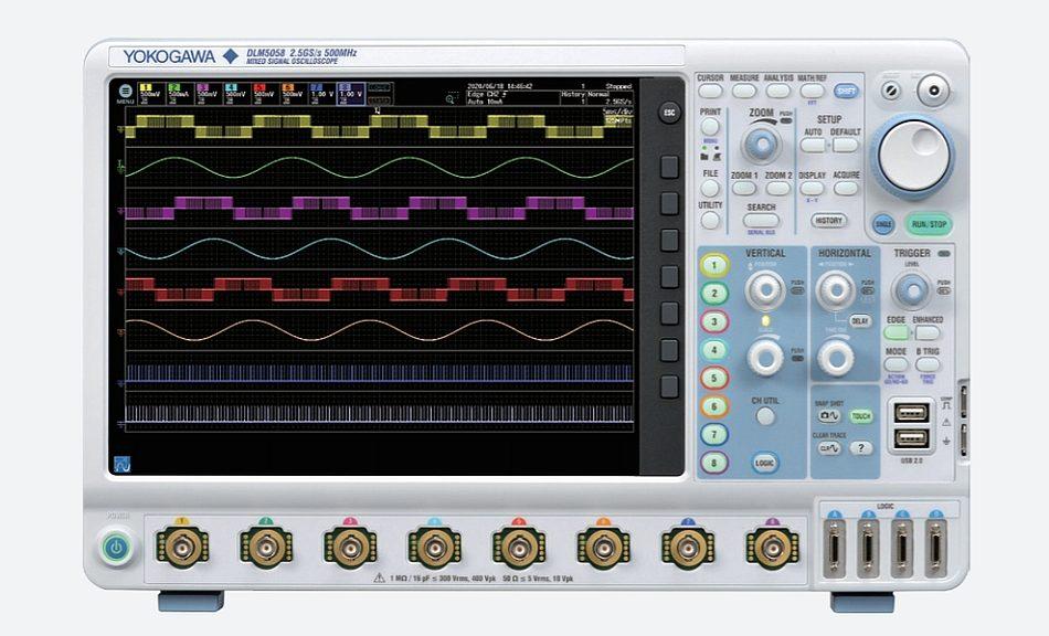 Yokogawa DLM5000 Oscilloscope