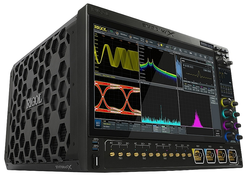 Rigol's StationMax multifunctional multi input and output instrument