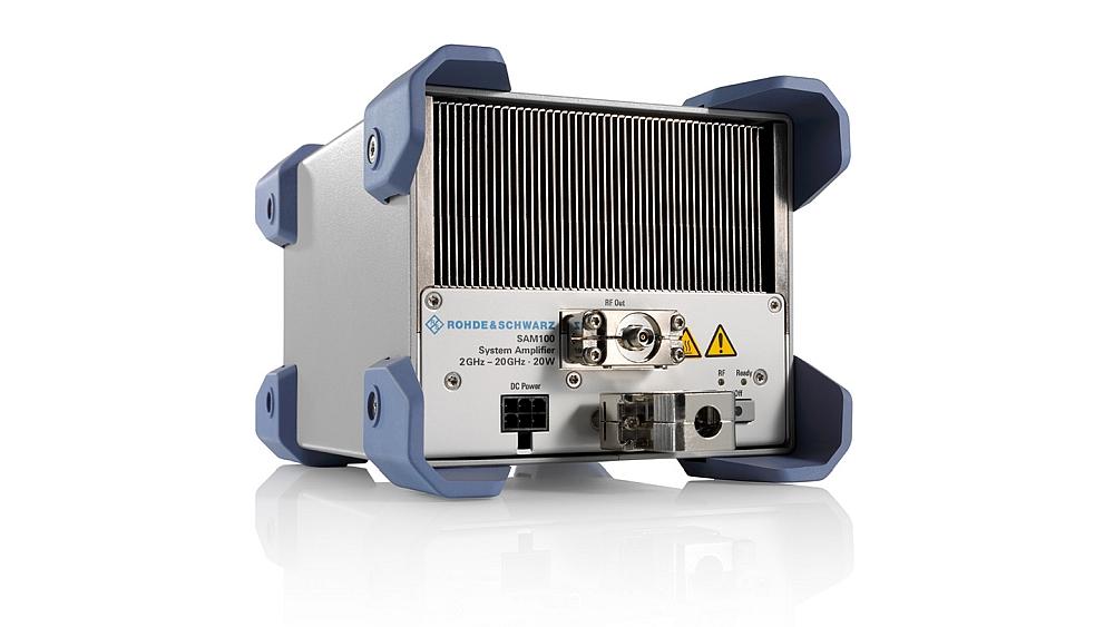 Rohde & Schwarz's SAM100 Microwave Amplifier