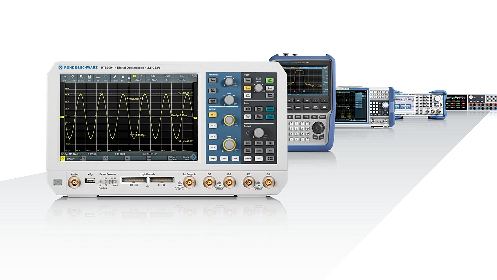 Value Instruments from Rohde & Schwarz.