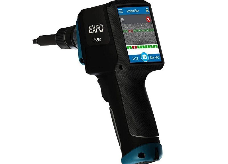 Exfo FIP-500 probe for fiber optic connector