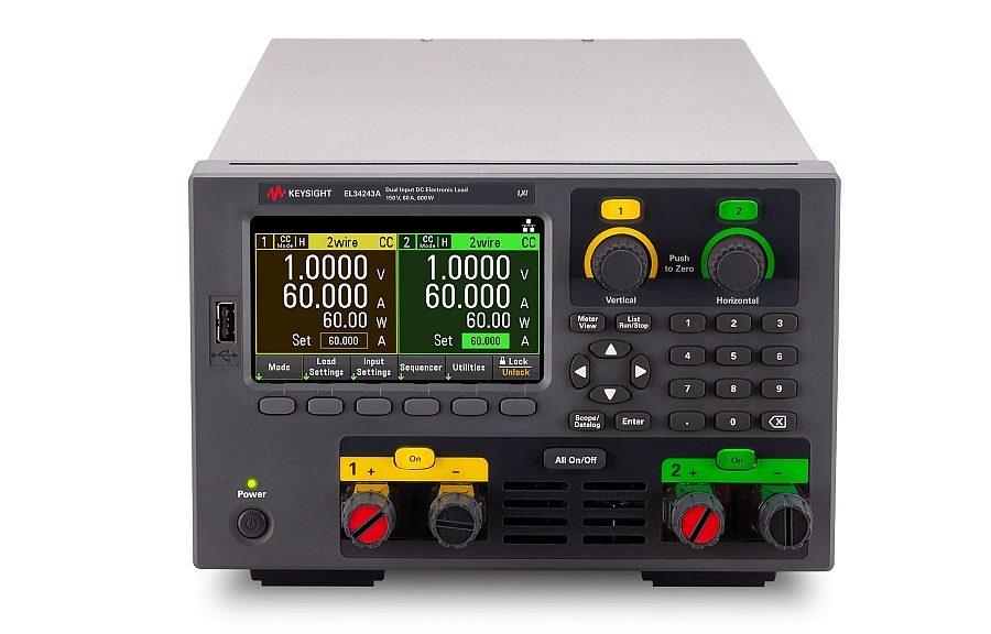 Keysight EL30000 Series bench DC electronic load