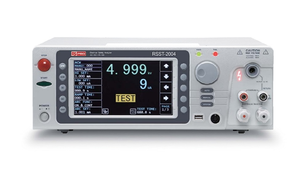 Electrical Safety Analyzer RSST-2004 from RS PRO