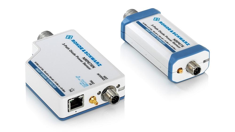 Rohde & Schwarz NRP67S and NRP67SN power sensors