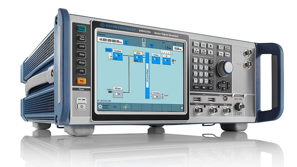 Rohde & Schwarz 's Vector Signal Generator R&S SMM100A