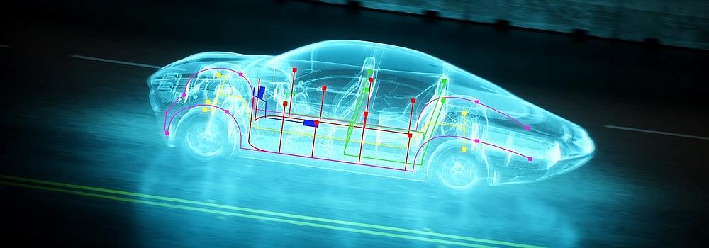 Multi-Gigabit Automotive Ethernet Network