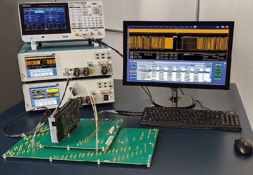 Tektronix's PCIe 5.0 testing and debugging solution