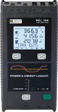 PEL104 electrical data logger from Chauvin Arnoux