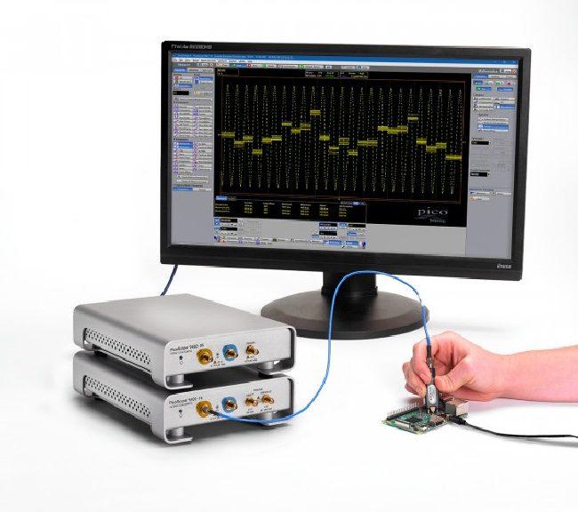 PicoScope 9402-05 and 9402-16 oscilloscope modules