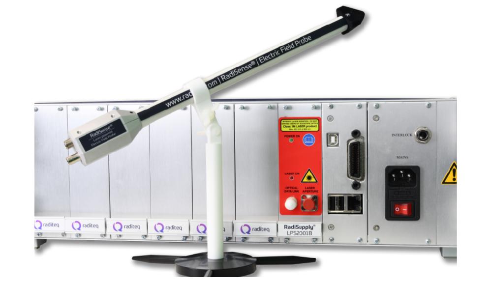 RadiSense 26 electric field probe and RadiCentre EMC test system from Raditeq