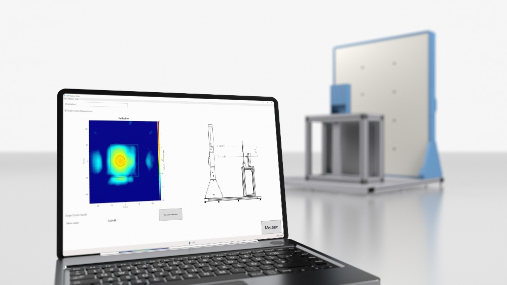 Millimeter-wave imaging system of the R&S QAR series from Rohde & Schwarz