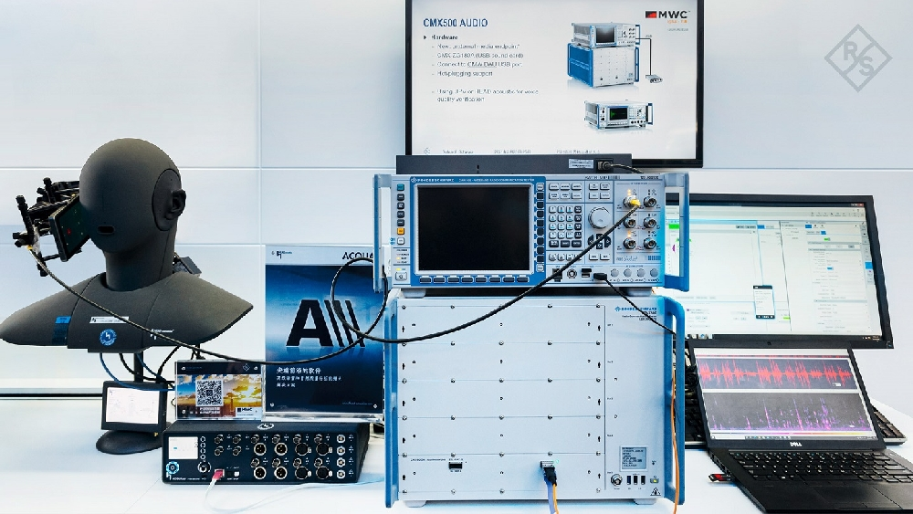 5G VoNR Voice Services Test Solution from Rohde & Schwarz and Head acoustics