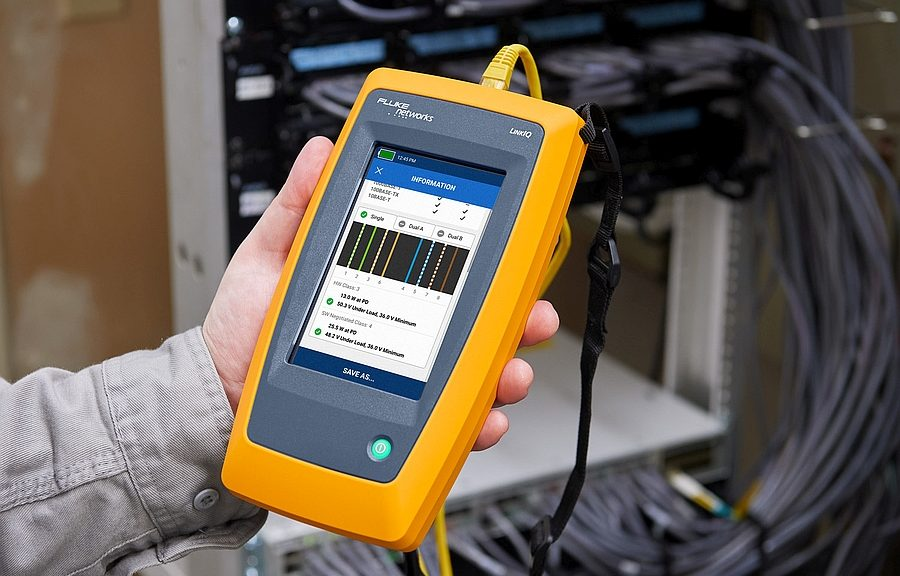 Fluke Networks LinkIQ cable and network tester