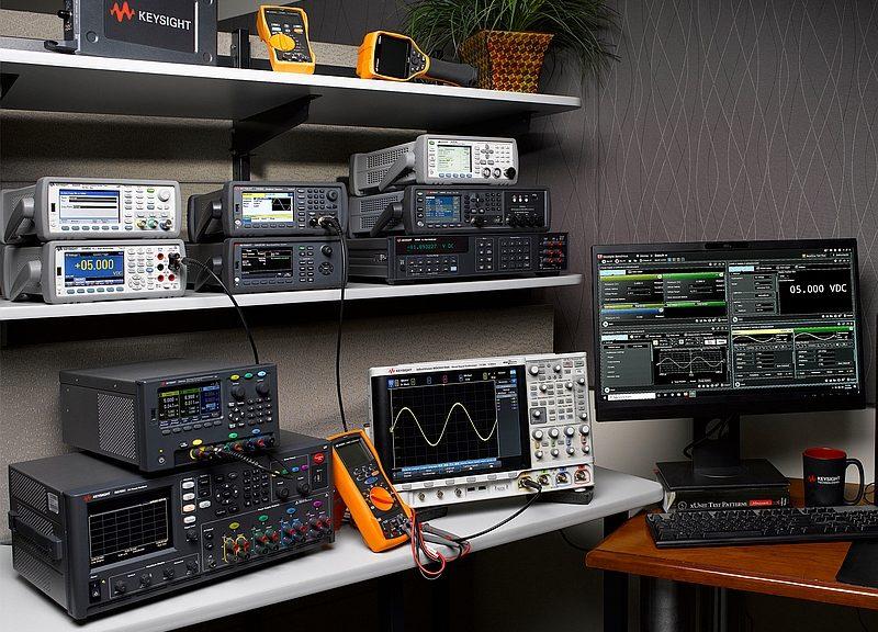 Keysight's range of electronic test instruments
