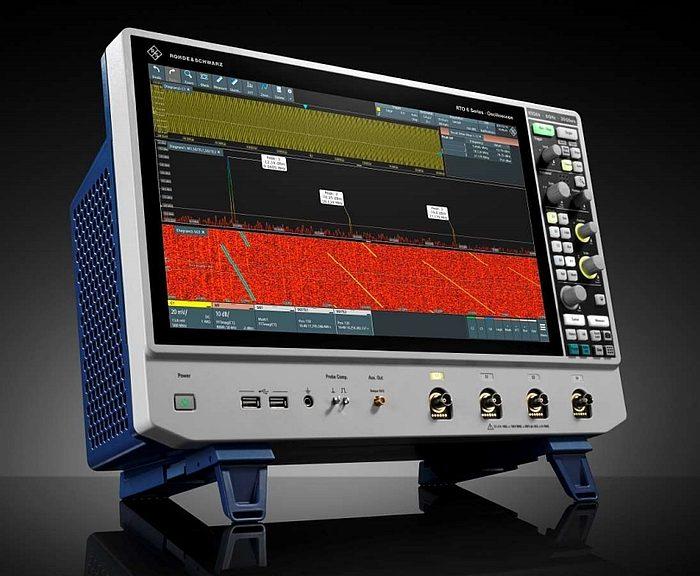 Rohde & Schwarz R&S RTO6 oscilloscope