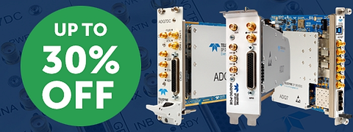 Teledyne SP Devices Digitizers Promotion