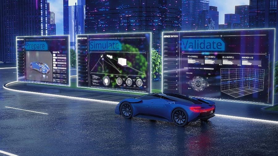 Dspace's Simphera solution for automotive simulation and validation