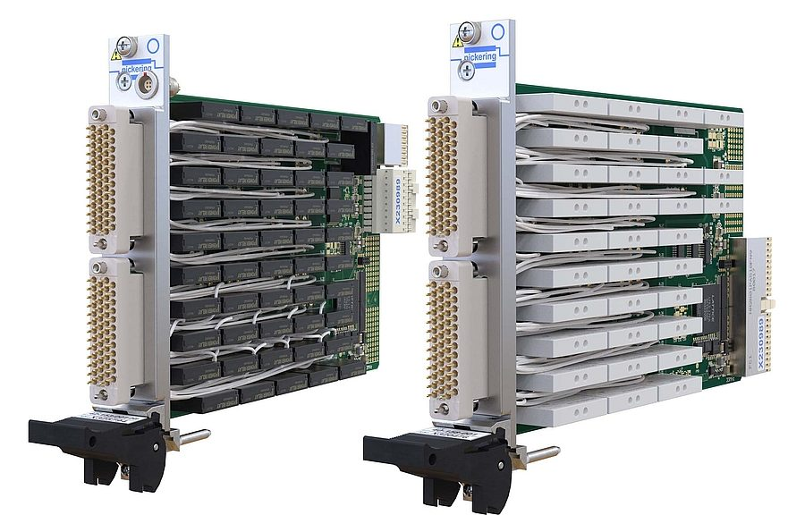 Pickering 40/42-153 and 40/42-158 Series Power Relay PXI/PXIe Modules