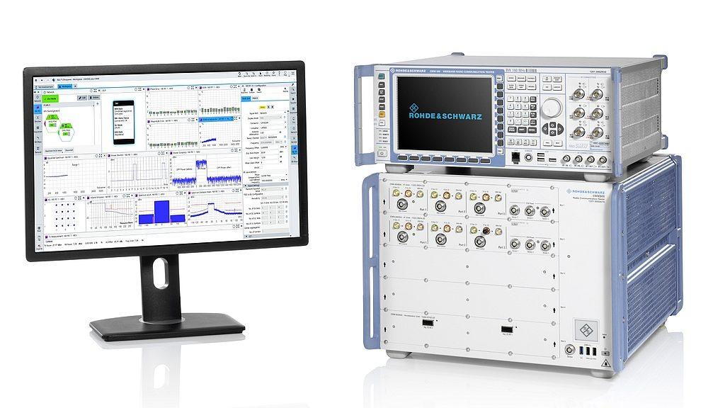 Rohde & Schwarz R&S CMX500 series 5G NR radio communication tester