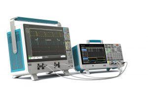Tektronix MSO6 oscilloscope and AFG31000 arbitrary generator.